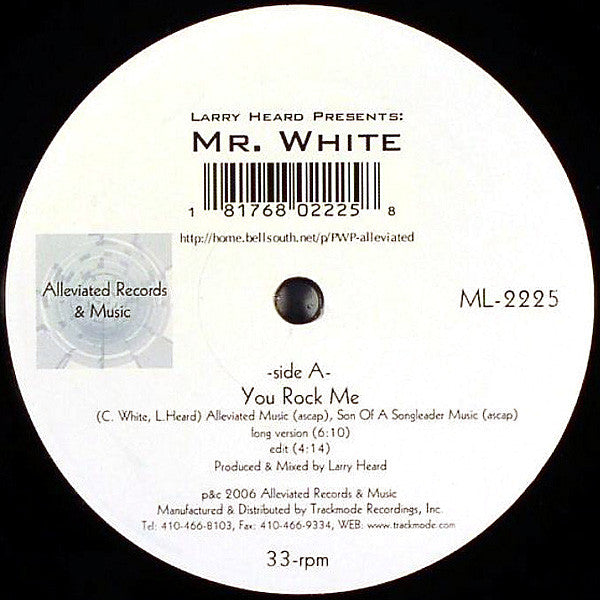 Mr White - The Sun Cant Compare / You Rock Me