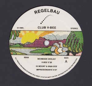Various ‎– Club V-Bee