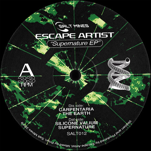 Escape Artist - Supernature EP