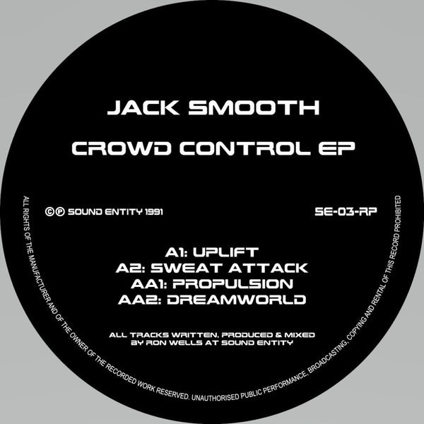 Jack Smooth - Crowd Control EP