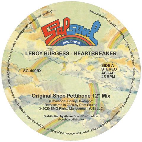 Leroy Burgess - Heartbreaker Inc. Moplen Remix
