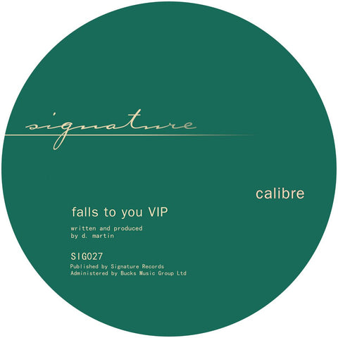 Calibre - Falls To You VIP / End Of Meaning
