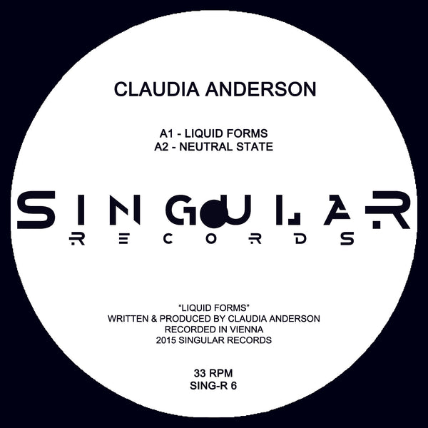 Claudia Anderson - Liquid Forms