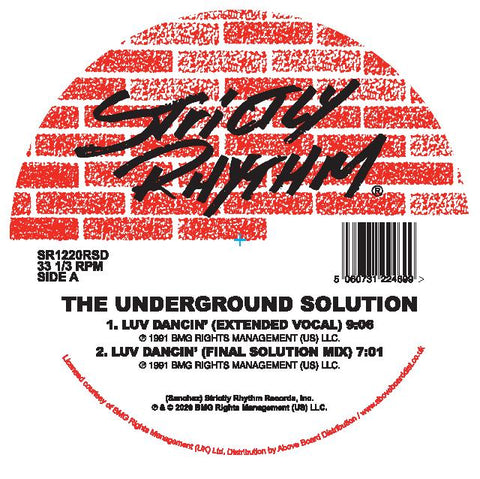 The Underground Solution - Luv Dancin' (30th Anniversary)