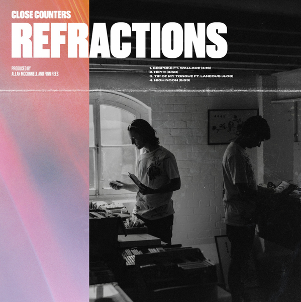 CLOSE COUNTERS - REFRACTIONS EP