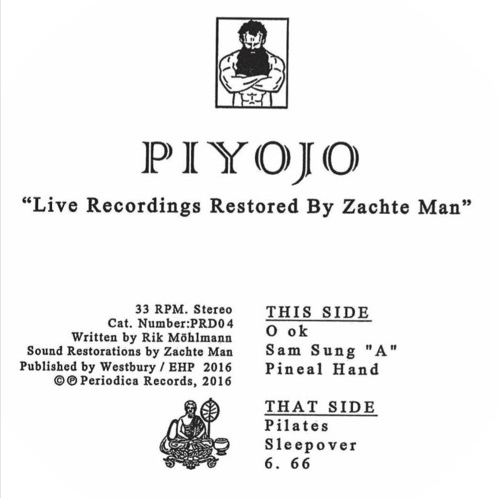 Piyojo - Live Recordings Restored by Zachte Man (PRE-ORDER)