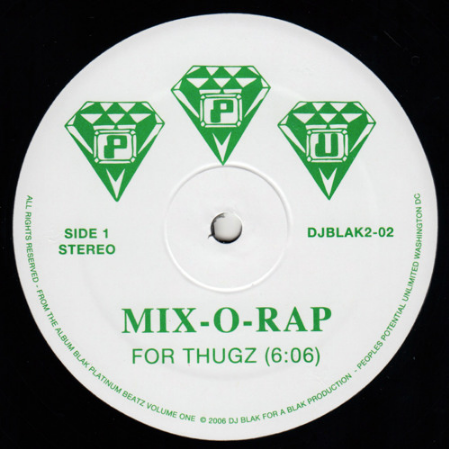 MIX-0-RAP - For Thugz