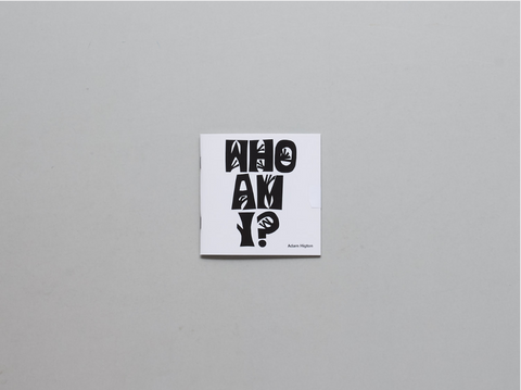 Who am I? Adam Higton