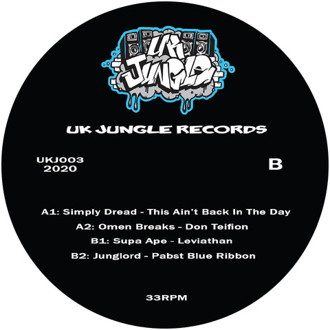 Various Artists - UK Jungle Records #3