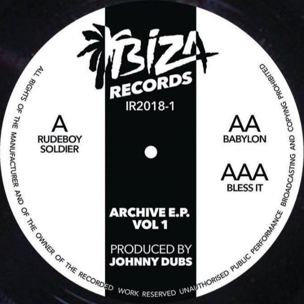 Johnny Dubs - ARCHIVE VOL 1