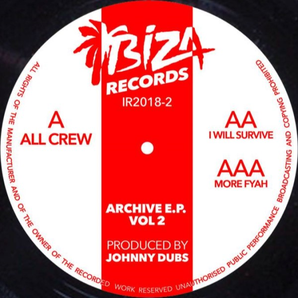 JOHNNY DUBS - ARCHIVE VOL 2