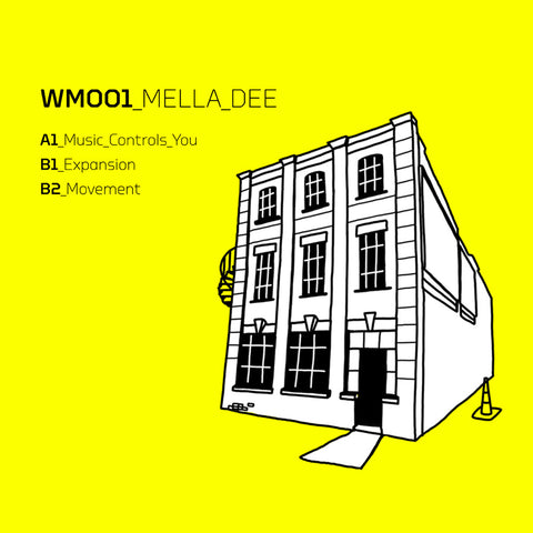 Mella Dee - Warehouse Music 001 Repress