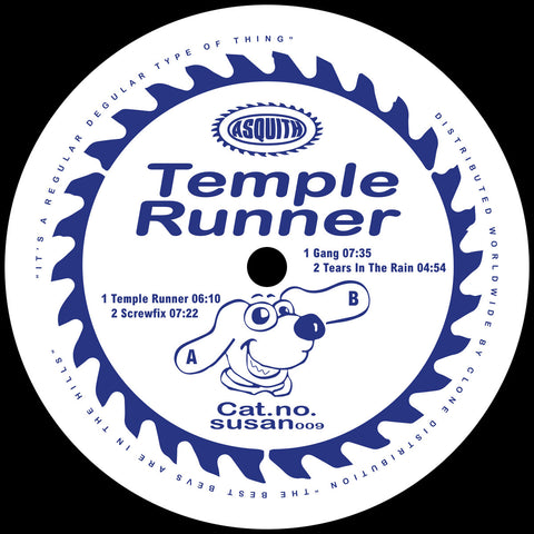 Asquith - Temple Runner (PRE-ORDER)