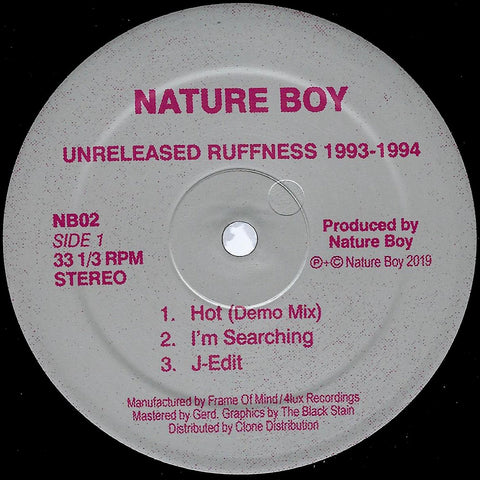 Nature Boy - Unreleased Ruffness 1993-1994