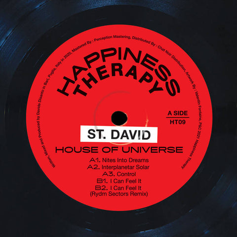 St. David - House Of Universe EP