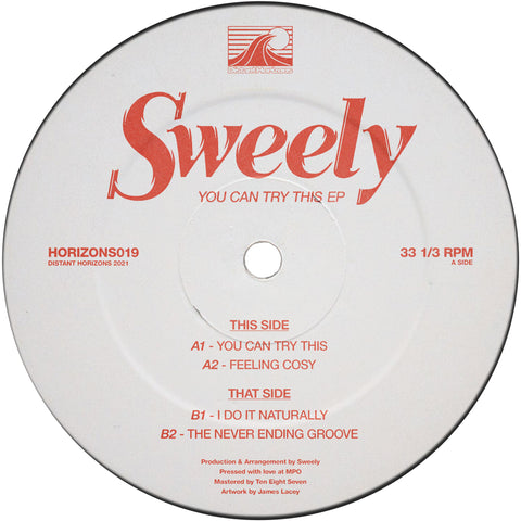 Sweely - You Can Try This EP REPRESS (PRE-ORDER)