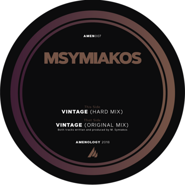 Msymiakos - Vintage Hard Mix & Original