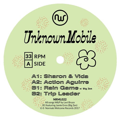Unknown Mobile - Sharon & Vida 12""