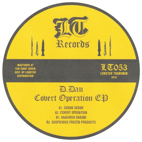 D.Dan - Covert Operation EP