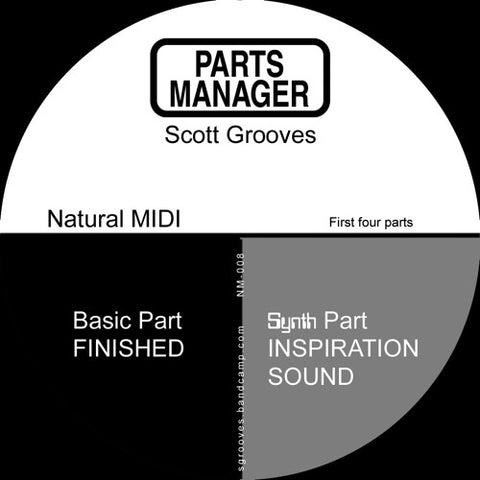 Scott Grooves ‎– Parts Manager (First Four Parts)
