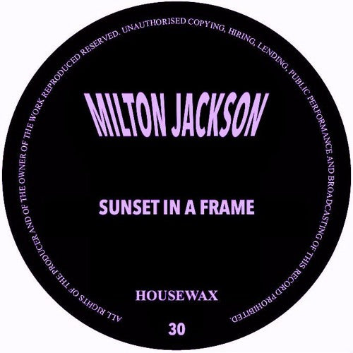 Milton Jackson - Sunset In A Frame