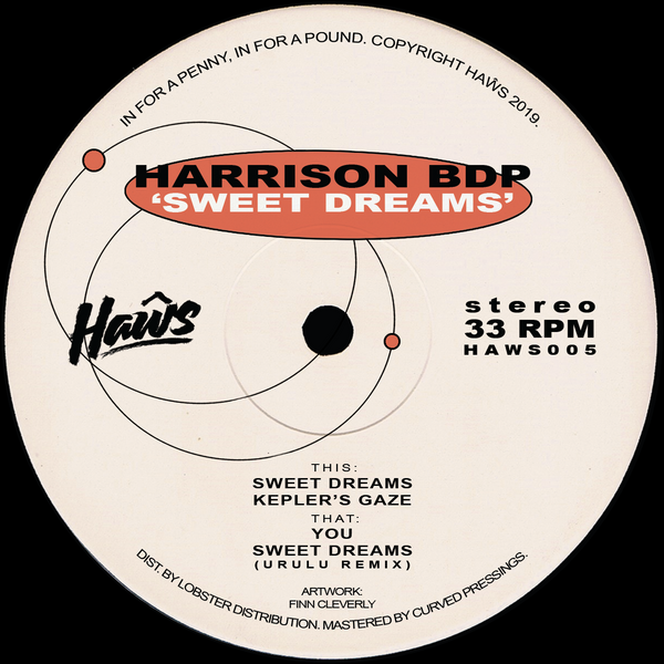Harrison BDP - Sweet Dreams EP