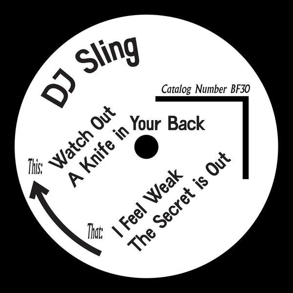 DJ Sling - The Secret EP