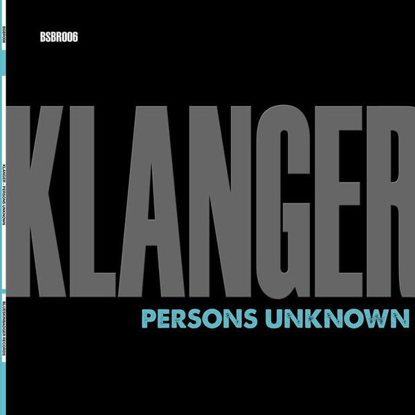 Persons Unknown - Klanger (PRE-ORDER)