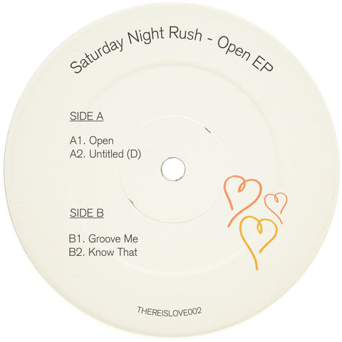Saturday Night Rush - Open EP