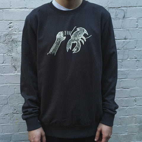 Lobster Logo Sweatshirt - Lobster Records