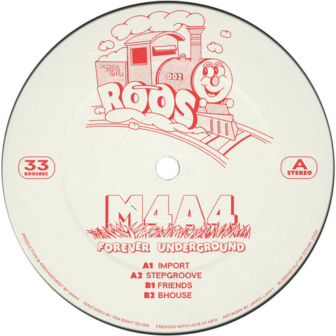 M4A4 - Forever Underground EP REPRESS (PRE-ORDER)