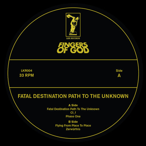 Fingers of God - Fatal Destination To The Unknown (PRE-ORDER)