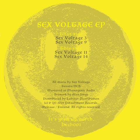 Sex Voltage - Sex Voltage EP (PRE-ORDER)