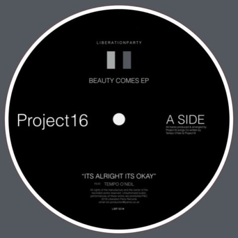 Project 16 - Beauty Comes EP