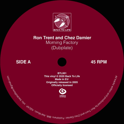 Ron Trent and Chez Damier - Morning Factory