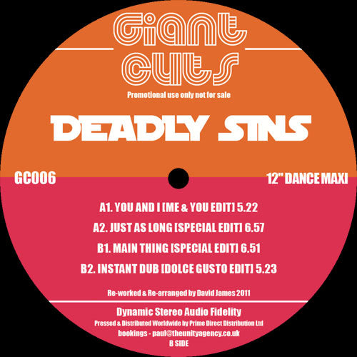 Deadly Sins - Giant Cuts Vol 6
