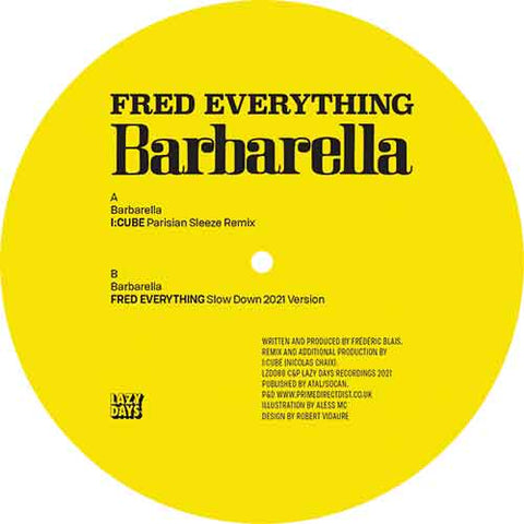 Fred Everything  - Barbarella (pre-order)