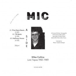 Mike Collins - Lost Tapes 1983 - 1989