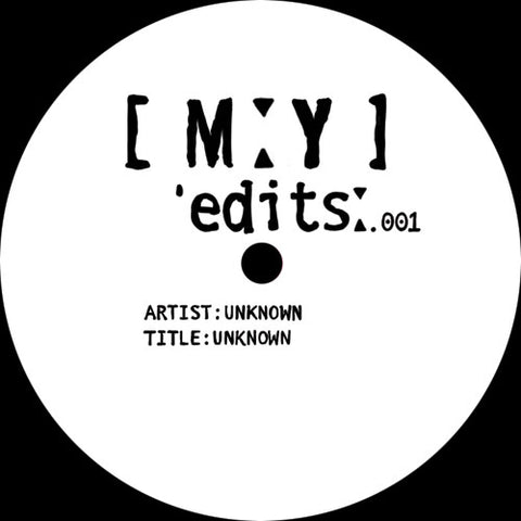 Unknown - MYEDITS001 REPRESS