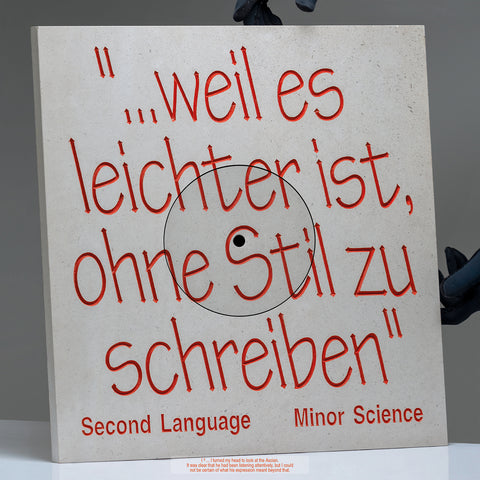 Minor Science - Second Language (PRE-ORDER)