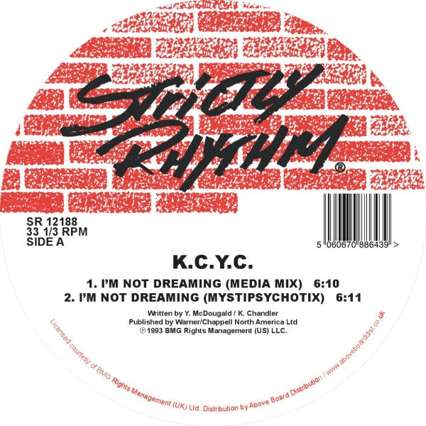 K.C.Y.C. - I'm Not Dreaming / Side By Side