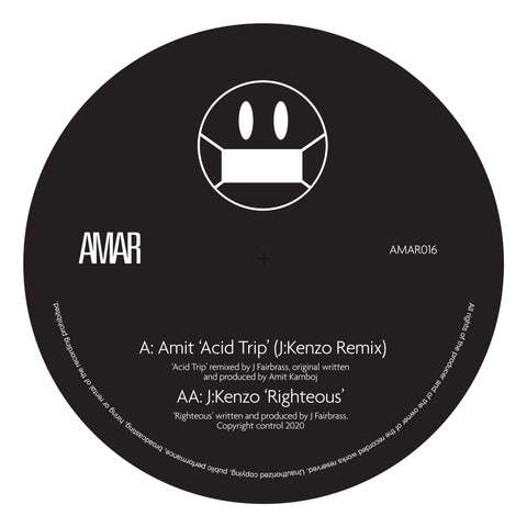 Amit - Acid Trip (J:Kenzo Remix) / Righteous (PRE-ORDER)