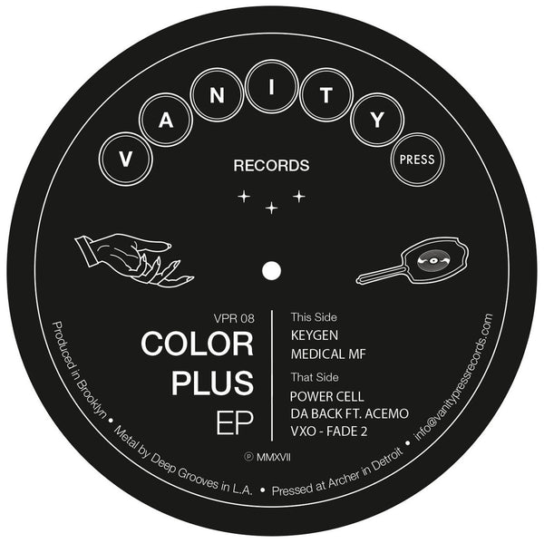 Color Plus - Color Plus EP (PRE-ORDER)