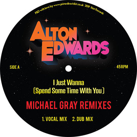 Alton Edwards - I Just Wanna (Spend A Little Time With You)