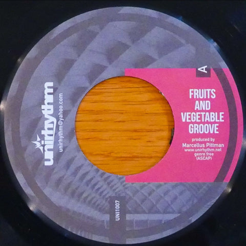 Marcellus Pittman - Fruits And Vegetable Groove / Love 4 My Kinfolk (PRE-ORDER)