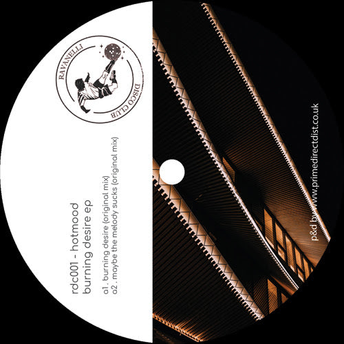 Hotmood Burning Desire Ep Lobster Records