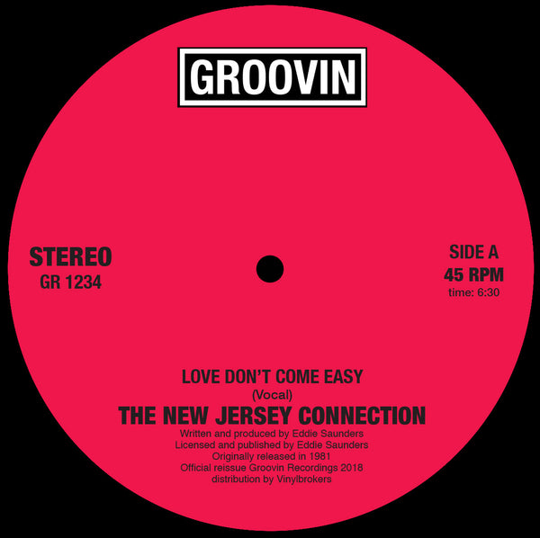 New Jersey Connection - Love Don't Come Easy
