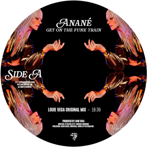 Anané - Get On The Funk Train (Produced by Louie Vega) (Inc. Michael Gray & Mark Knight / Todd Terry Remixes)