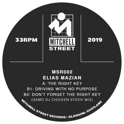 Elias Mazian - The Right Key EP