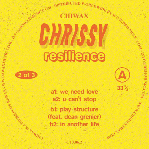 Chrissy - Resilience (Part 2 of 3)